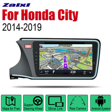 Auto Radio 2 Din Android Car DVD Player For Honda City 2014~2019 GPS Navigation BT Wifi Map Multimedia system Stereo auto player gps navigation for honda city 2014 2019 car android multimedia system screen radio stereo