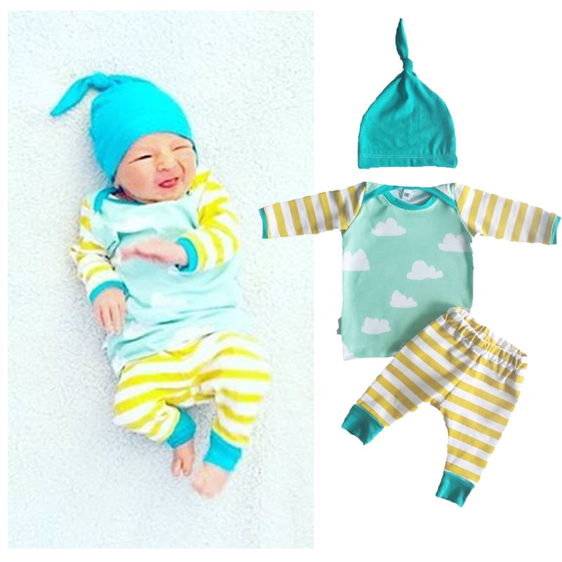 ᓂLos niños infantiles recién nacidos del resorte del otoño ropa ...