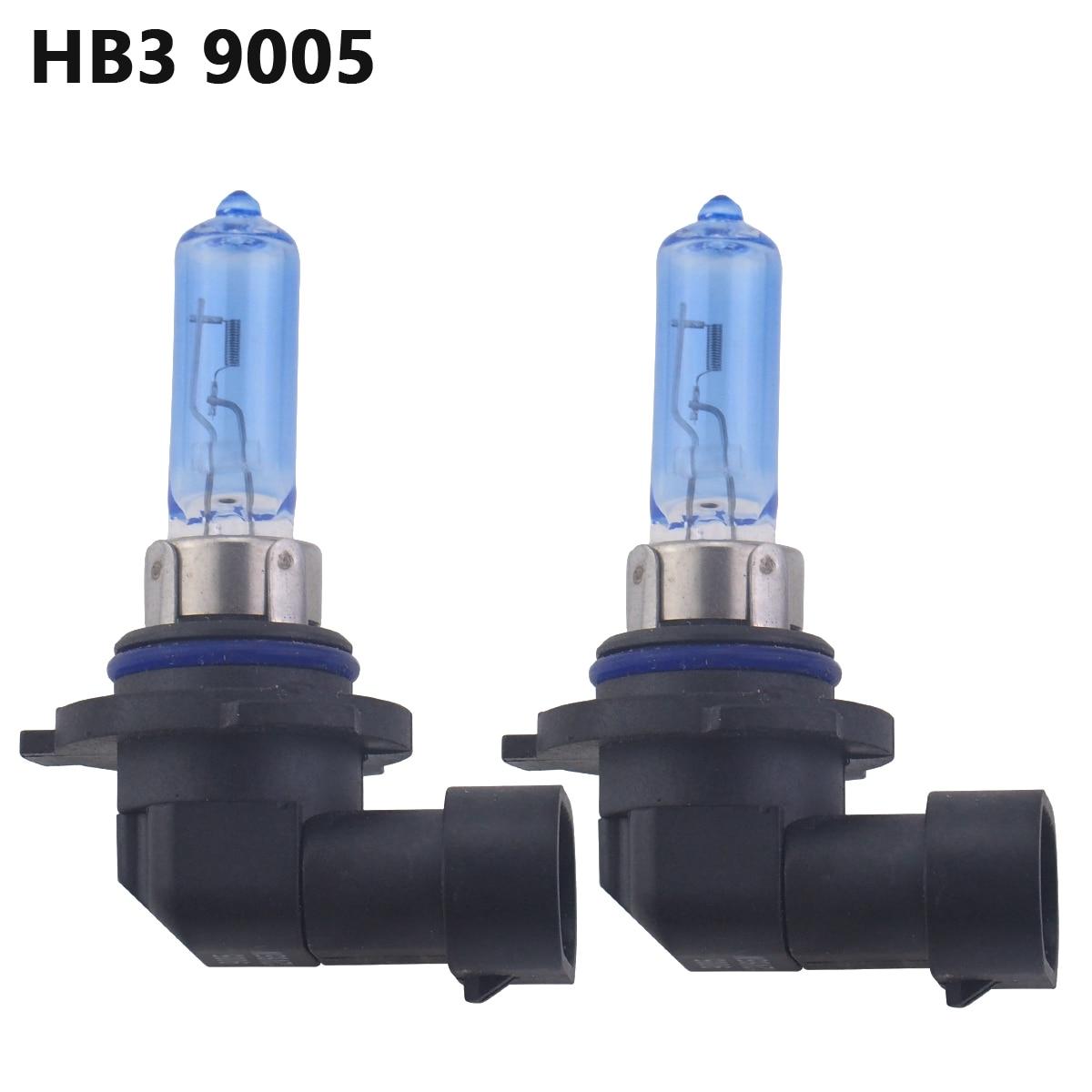 2pcs 12V 100w H3 White 5000K Xenon Gas HID Foglight Light Bulbs 1 Pair