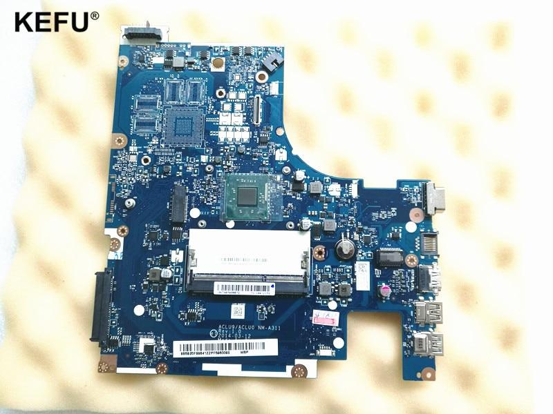 Produit nouvelle carte mère adaptée pour Lenovo G50 G50-30 carte mère d'ordinateur portable ACLU9/ACLU0 NM-A311 avec n2830 N2840 CPU à bord