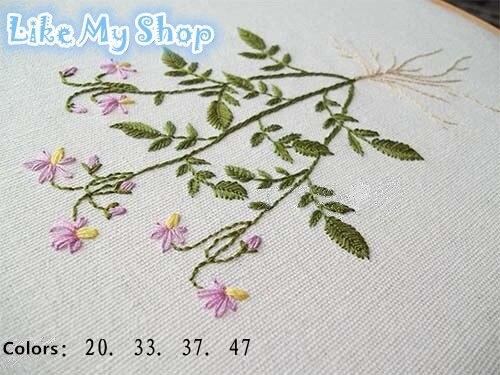 69 цветов хлопок ручная/нить для машинного вышивания нитки для вышивки крестом нитки для ручного шитья все в разных цветах