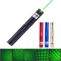 532nm 8000m laser verde vista laser 303 ponteiro dispositivo poderoso alto foco ajustável lazer laser caneta cabeça azul vermelho 2 cabeça da lâmpada