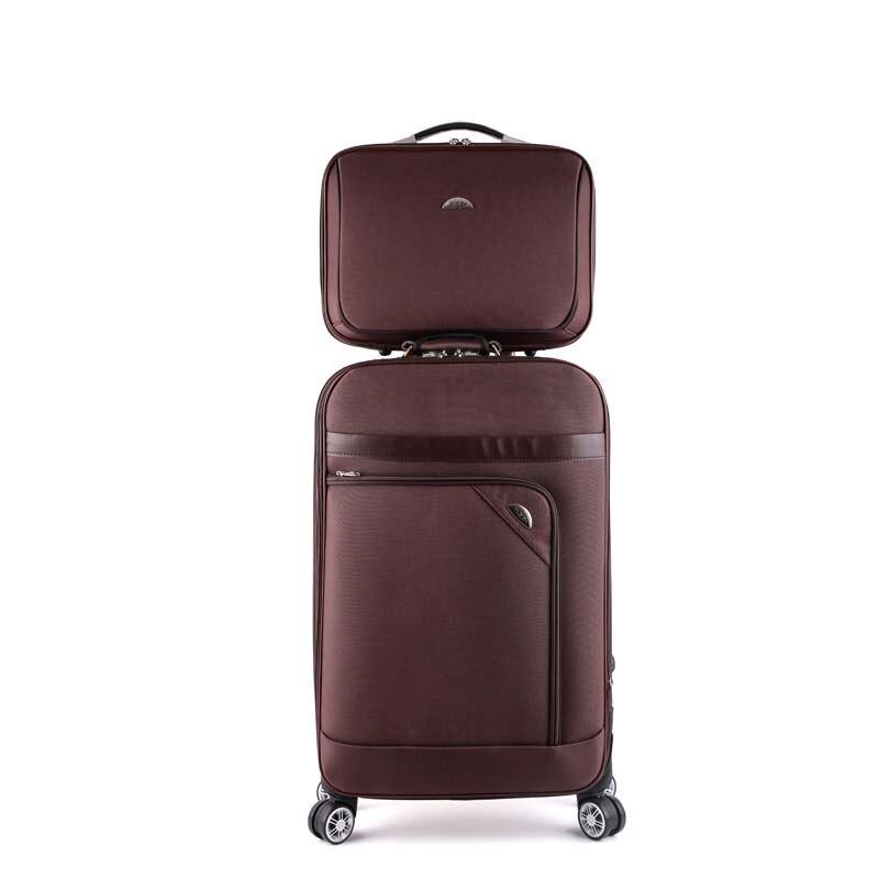 Letrend 남자 비즈니스 회 전자 롤링 수하물 세트 여성 비밀 번호 가방 바퀴 20 인치 운반 트롤리 노트북 여행 가방-에서여행용 가방부터 수화물 & 가방 의  그룹 1