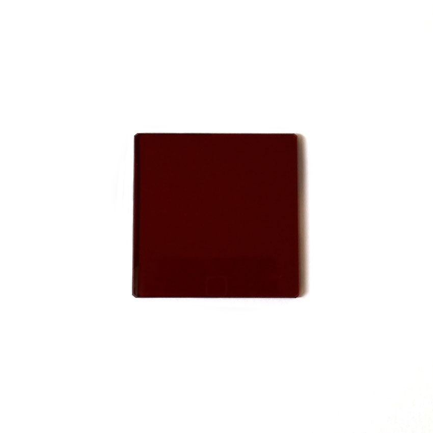 HB650 red glass red filter cut-off filter 50*50*2mm before 650HB650 red glass red filter cut-off filter 50*50*2mm before 650