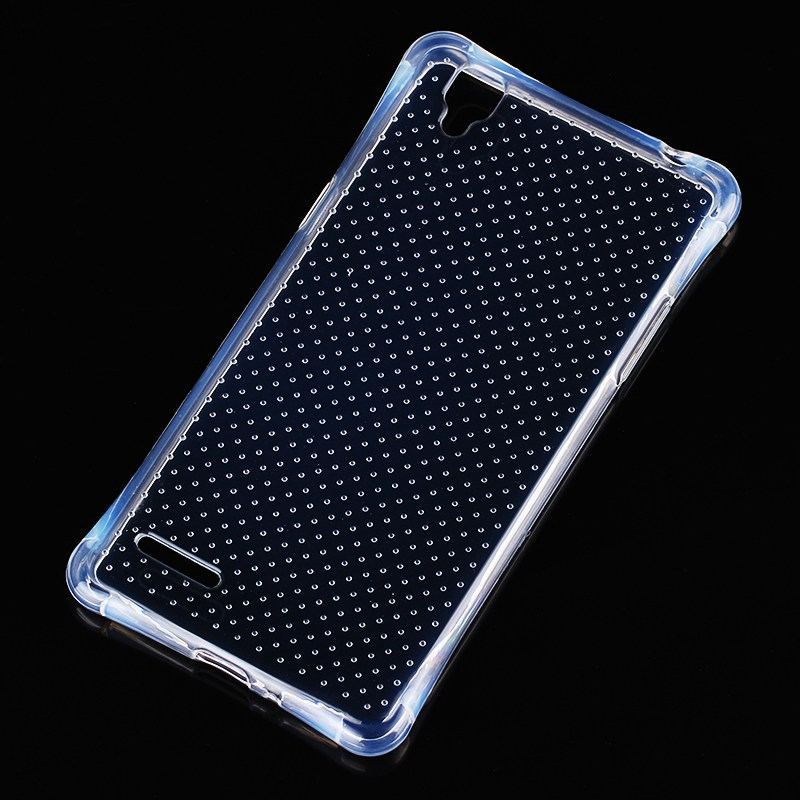 Phone Cover Cases For Oppo F1 A35 A35t Transparent Drop Proof Armor