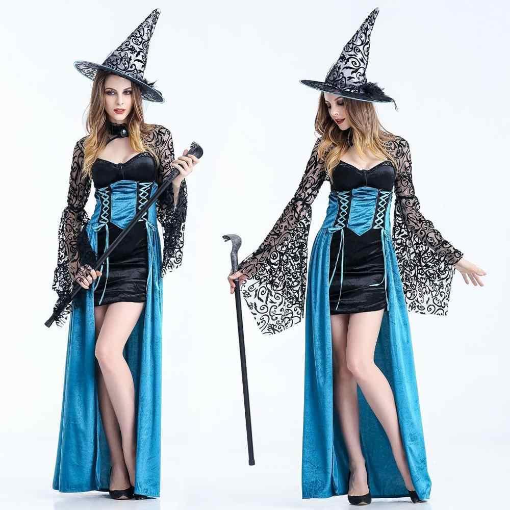 ליל כל הקדושים תלבושות עבור נשים קוספליי ערפד שלג לבן מכשפה מלכת תלבושות קוספליי