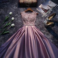 Новое поступление, красные, синие, розовые, фиолетовые, длина до пола, для девушек, женщин, принцесс, подружки невесты, вечерние, бальные плат...