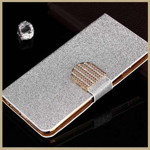 Lật Bling Glitter Kim Cương Điện Thoại Trường Hợp Đối Với Samsung Galaxy Đại Duos i9080 Gt-I9082 Neo GT-i9060 Cộng Với i9060i Cover Lại Bản Gốc