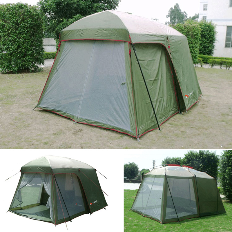 2017 Hot sale outdoor 5-8 persons beach camping tent anti/proof wind/rain UV/waterproof 1room 1hall for sale/on sale turbulence effect on wind rain station