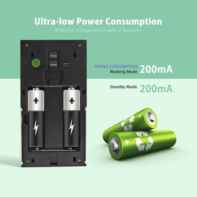 Low Power Consumption Wireless Doorbell