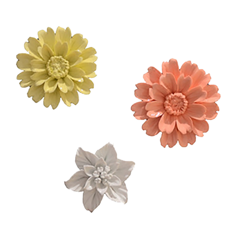Ceramic Wall Flower Decor: Aliexpress.com : Buy Ceramic Flower Sunflower Gardenia
