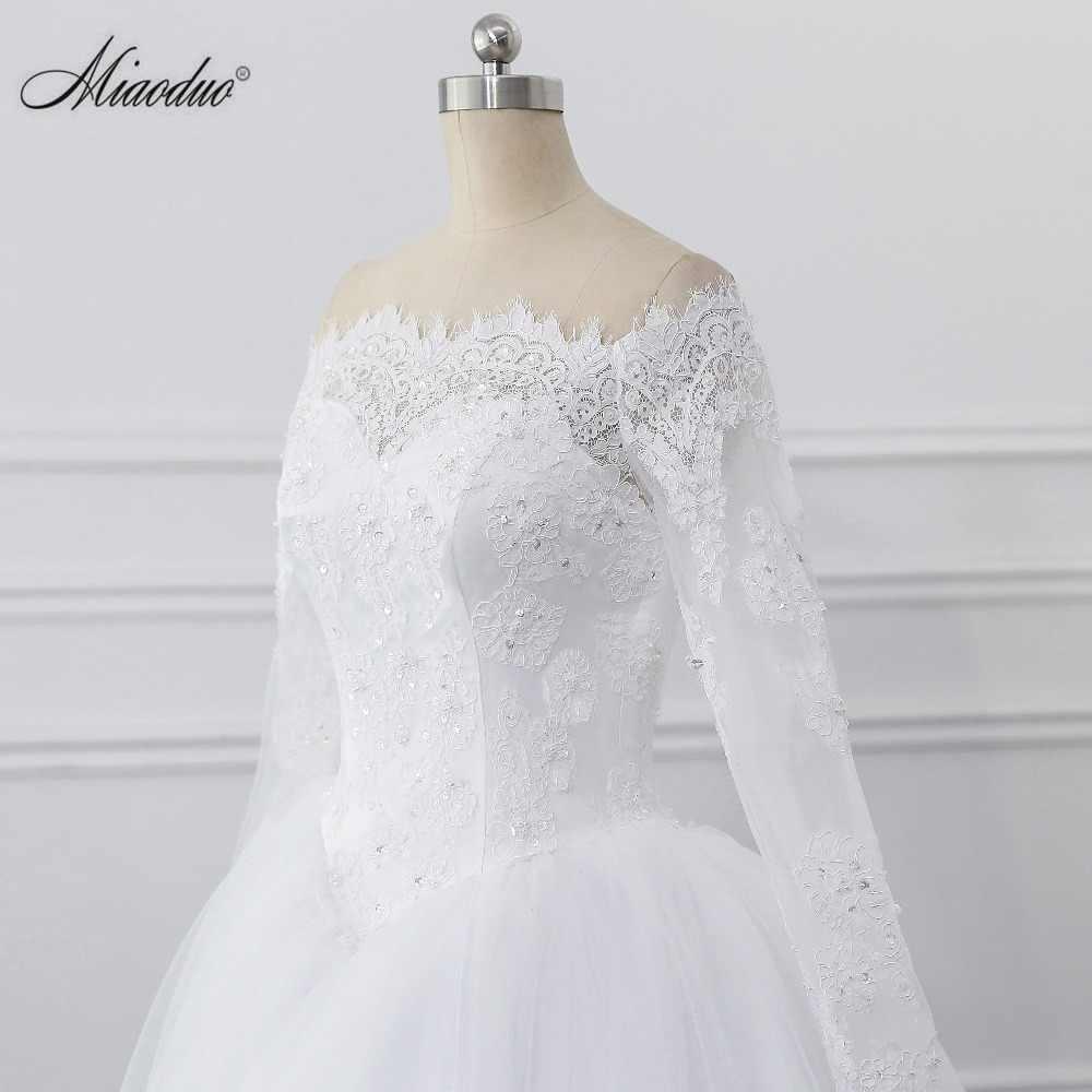 Vestido de noiva de noiva 2019 vestido de noiva princesa vestido de baile fora do ombro contas applique renda vestido de noiva robe de mariee