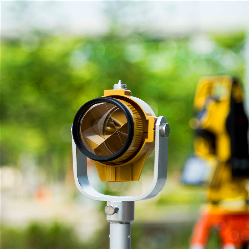 Details about NEW Yellow Single Prism w/Bag ,for TOPCON/SOKKIA/NIKON total stations brand new nikon single prism prisms for nikon total station stations