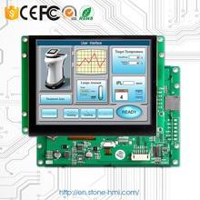Affichage tactile Programmable d'affichage à cristaux liquides de TFT de 10.1 pouces avec le conseil de contrôleur soutiennent n'importe quel microcontrôleur