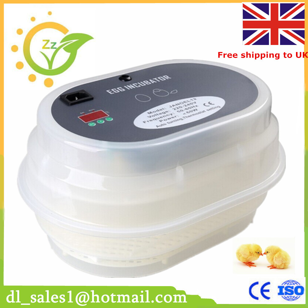 ФОТО Germany stock 12 Automatic incubator 220v/240v automatically turn the eggs 60w mini incubator
