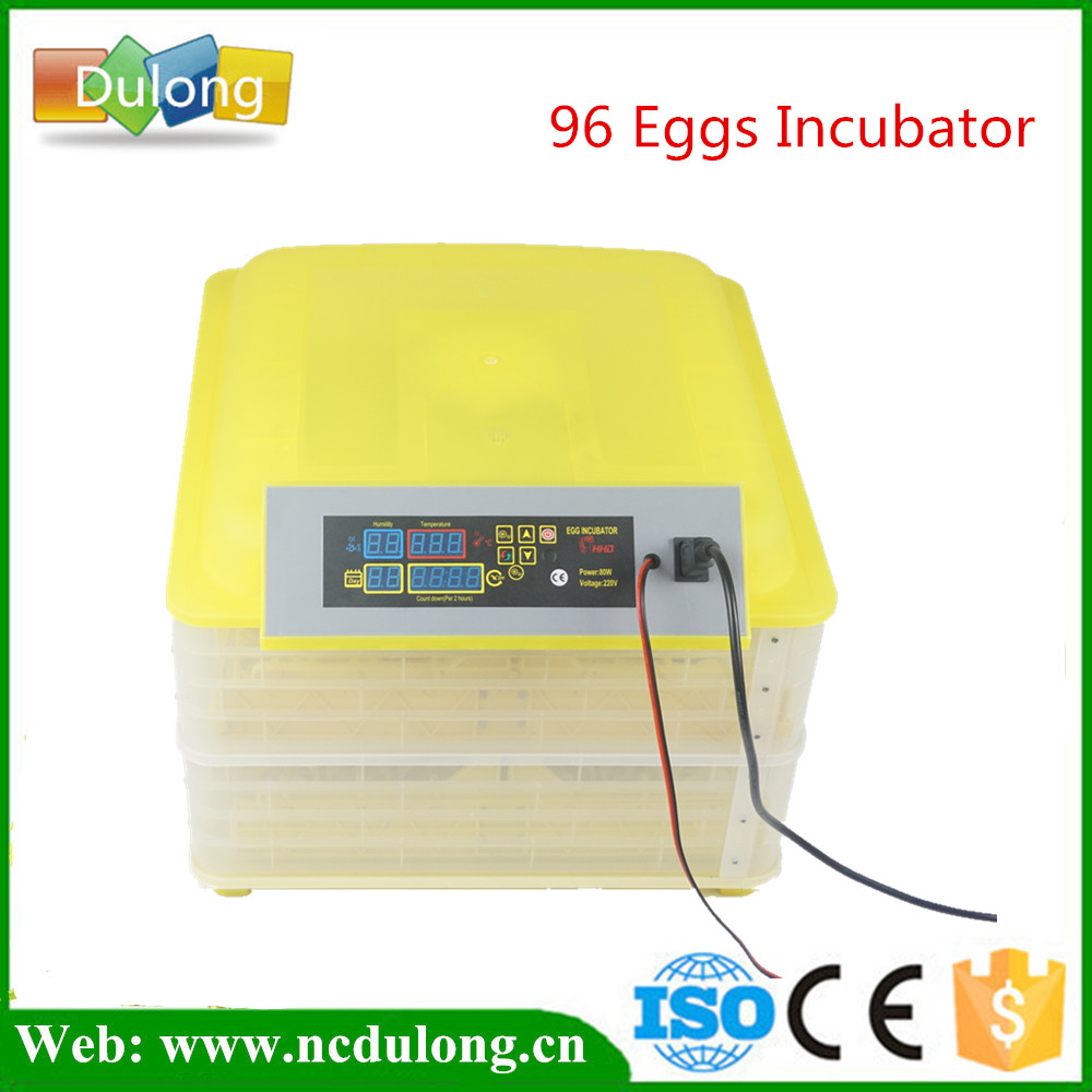 Mini 96 Egg Incubator Poultry Incubator Brooder Digital Temperature Hatchery Egg Incubator Hatcher Chicken Duck Bird Pigeon new design digital temperature incubator pet supply duck hatcher household chicken egg incubator