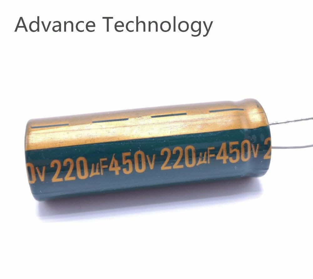 5-20 pièces/lot 450v 220UF condensateur électrolytique en aluminium 450v220uf 20% taille 18*50MM
