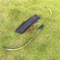 New Turkey bow fully transparent and completely handmade anti curved arch outdoors hunting