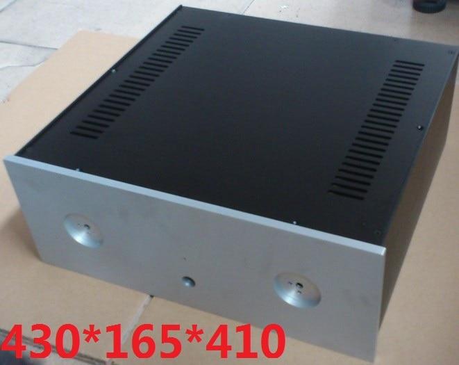 Aluminum amplifier chassis Preamp enclosure AMP case Cabinet DIY box 4316