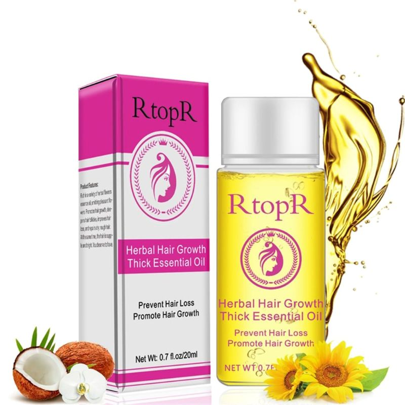 In Aroma Effektive Unisex Natürliche Extrakt Anti Haarausfall Pilatory Wachstum Serum Öl Pflege Beschreibung Duftendes