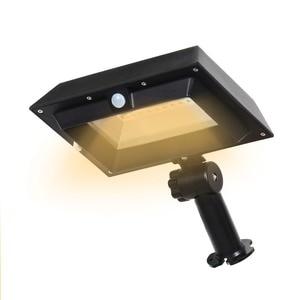 Image 3 - T SUNRISE 30LED Solar Light PIR Motion Sensor Solar Gutter Light Outdoor Lighting Garden Solar Lamp Waterproof IP44 Street Light