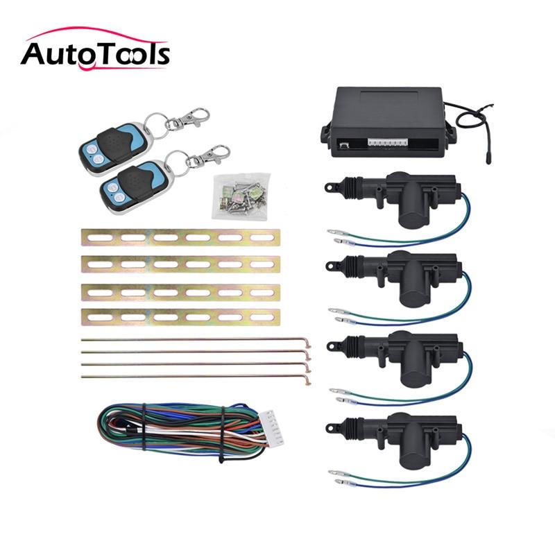 5pcs/lot Universal CAR keyless central lock system 360 Degree Rotation Remote Ce