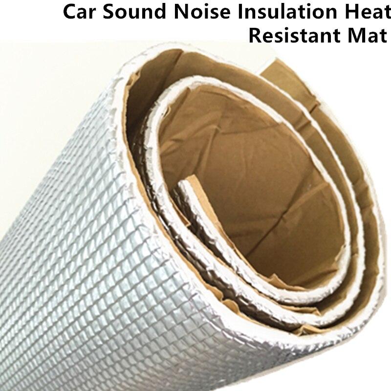 50\u0026quot;x40\u0026quot; Aluminum Foil Speaker Sound D&ening Proofing Deadener Self Adhesive Doors Hood Heat