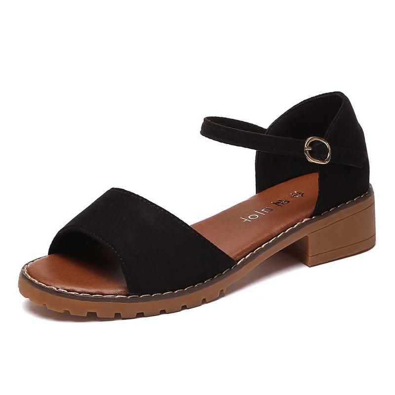 2018 أحذية نسائية عالية الكعب الصنادل - أحذية المرأة