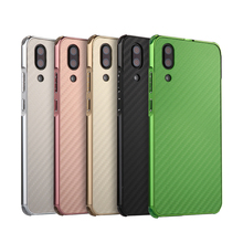 P20 Luxury Aluminum Metal Frame Bumper Case For Huawei P20 P 20 Carbon Fiber Back Cover for Huawei P20 Case 58''
