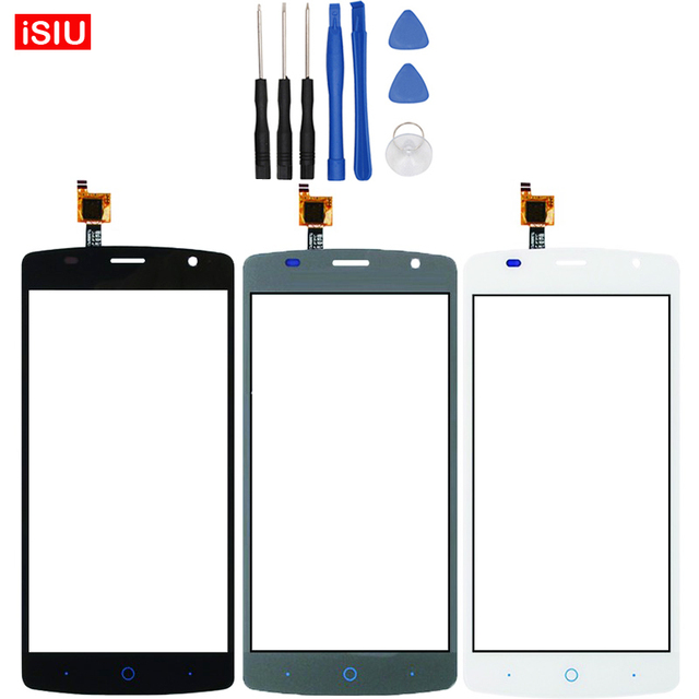 New 5.0 inch For ZTE Blade L5 Plus LCD Touch Screen Lens Glass Outer Front Panel + Tools