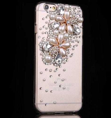Hot! Pro mobilní telefon Jiskřivé krystaly Kamínky Bling Krásný - Příslušenství a náhradní díly pro mobilní telefony