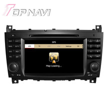Wince Car Radio Stereo For Benz C-Class W203 (2004-2007) for Benz CLK (2008-10) Car Electronics Car GPS Navigation Video Player