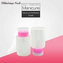 BlinkingNails 60ml Plastic Spray Bottles 100ml 120ml Bottle Lotion Pump Fashion Portable Refillable Bottles Travel Bottle 2 Size