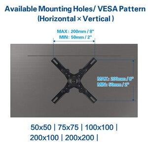 Image 2 - ユニバーサル調節可能な 15 キロカンチレバーマウントスタンド回転テレビの壁ブラケットホルダーのため 15 40 インチ LED 液晶フラットパネルプラズマテレビ