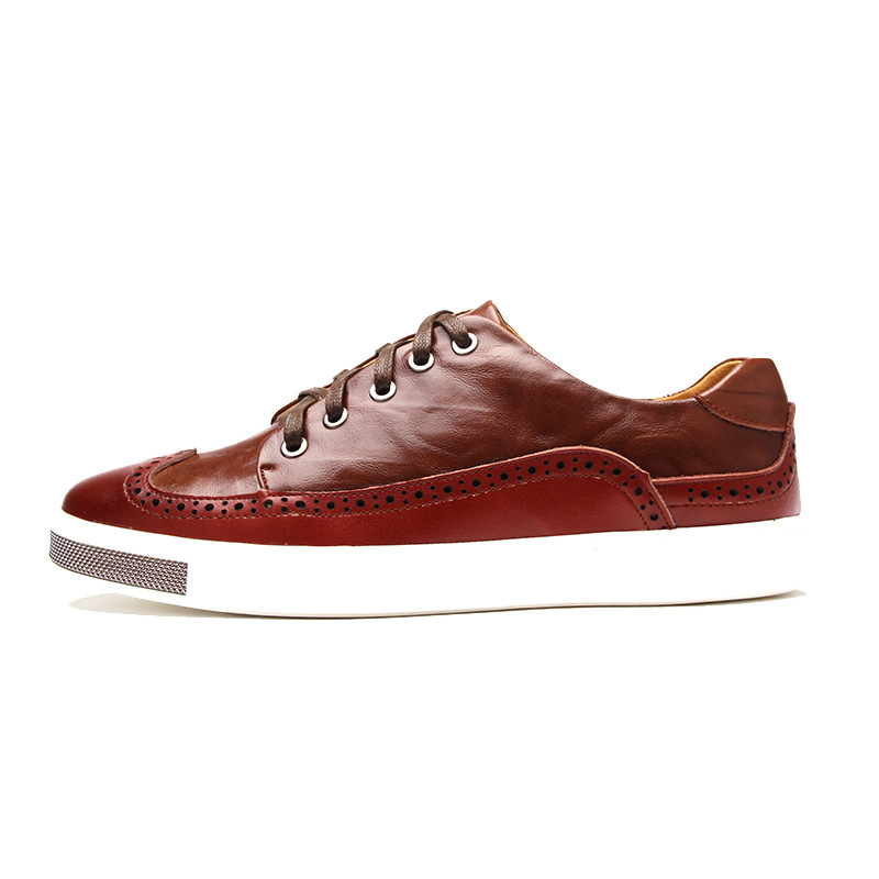 new arrival genuine leather casual shoes high quality