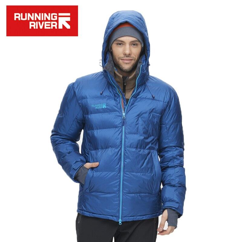 RIVIÈRE qui COULE Marque Ski Veste Pour Hommes 5 Couleurs Taille S-3XL Haute Qualité Hommes combinaison de Ski Chaud D'hiver veste Pour Hommes # L4976