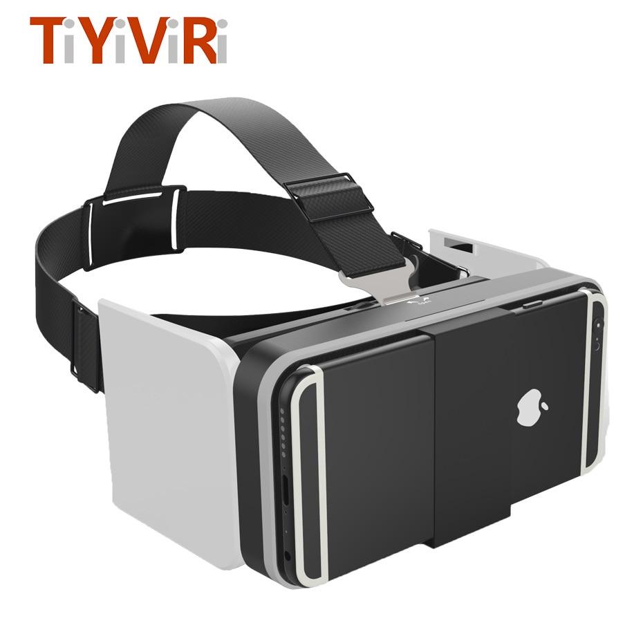 VR Box Portable Mini Virtual Glasses VR Box 3.0 Virtual Glasses Smartphone Google Cardboard 3d VR for Phone 4.7-6.0 Android