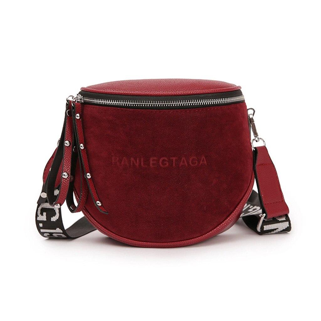 Messenger-Bag 35-Bags Single-Shoulder Women Fashion Ladies Pu for Leisure Simple Pure-Color