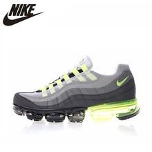 sneakers for cheap f8073 620a0 Nike Air Vapormax 95 OG chaussures de course homme, gris   vert, léger  absorbant les chocs respirant antidérapant AJ4970 071
