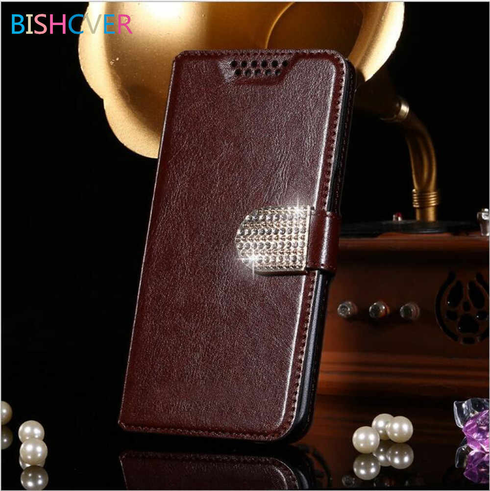 Роскошный кожаный чехол бумажник в стиле ретро с подставкой и откидной крышкой