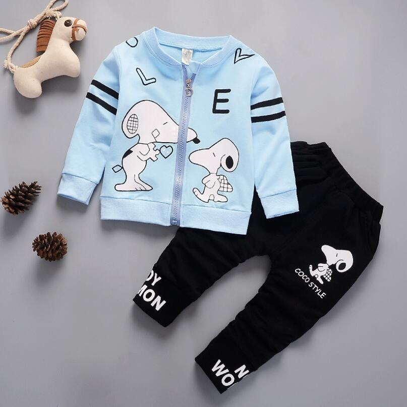 Clothing-Set Tracksuit Toddler Baby-Boys-Girls Kids Casual Spring 2pcs Autumn