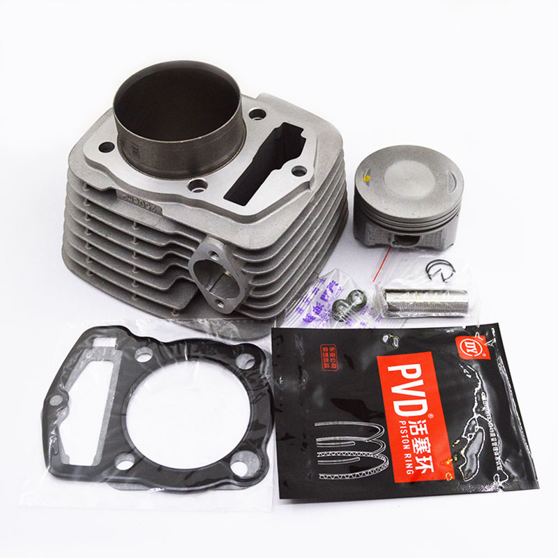 Motorcycle Cylinder Piston Gasket Rebuild Kit for LONCIN RE250 CBP250 GP250 CB250 GTY TGR CQR KAYO BSE 250 Dirt Bike QUAD ATV image