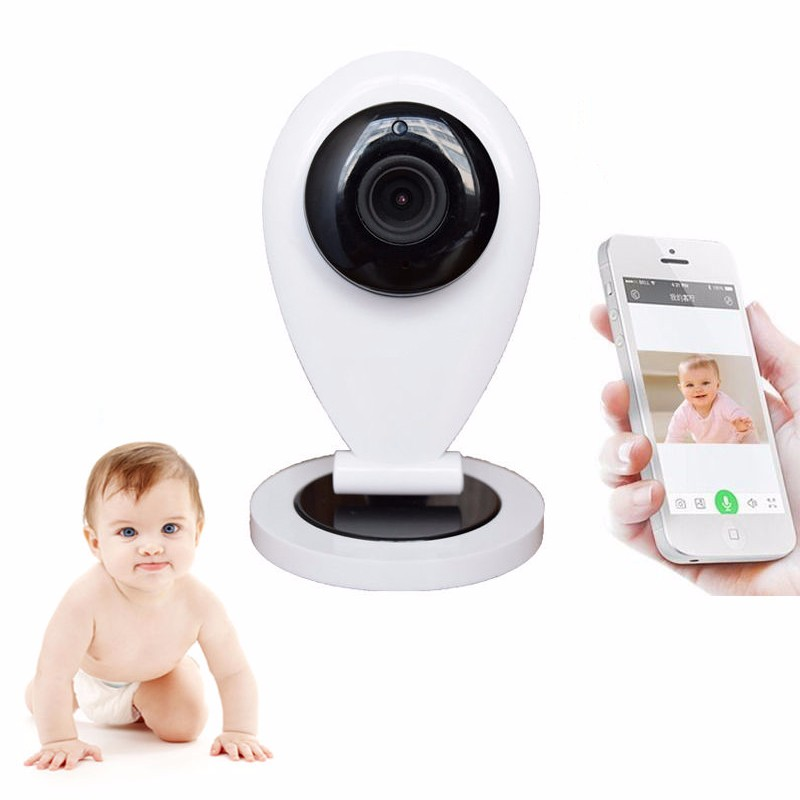 720P baba eletronica com camera video nanny monitor IR Night vision Intercom Motion Detection Baby Alarm Mini Camera radio nanny
