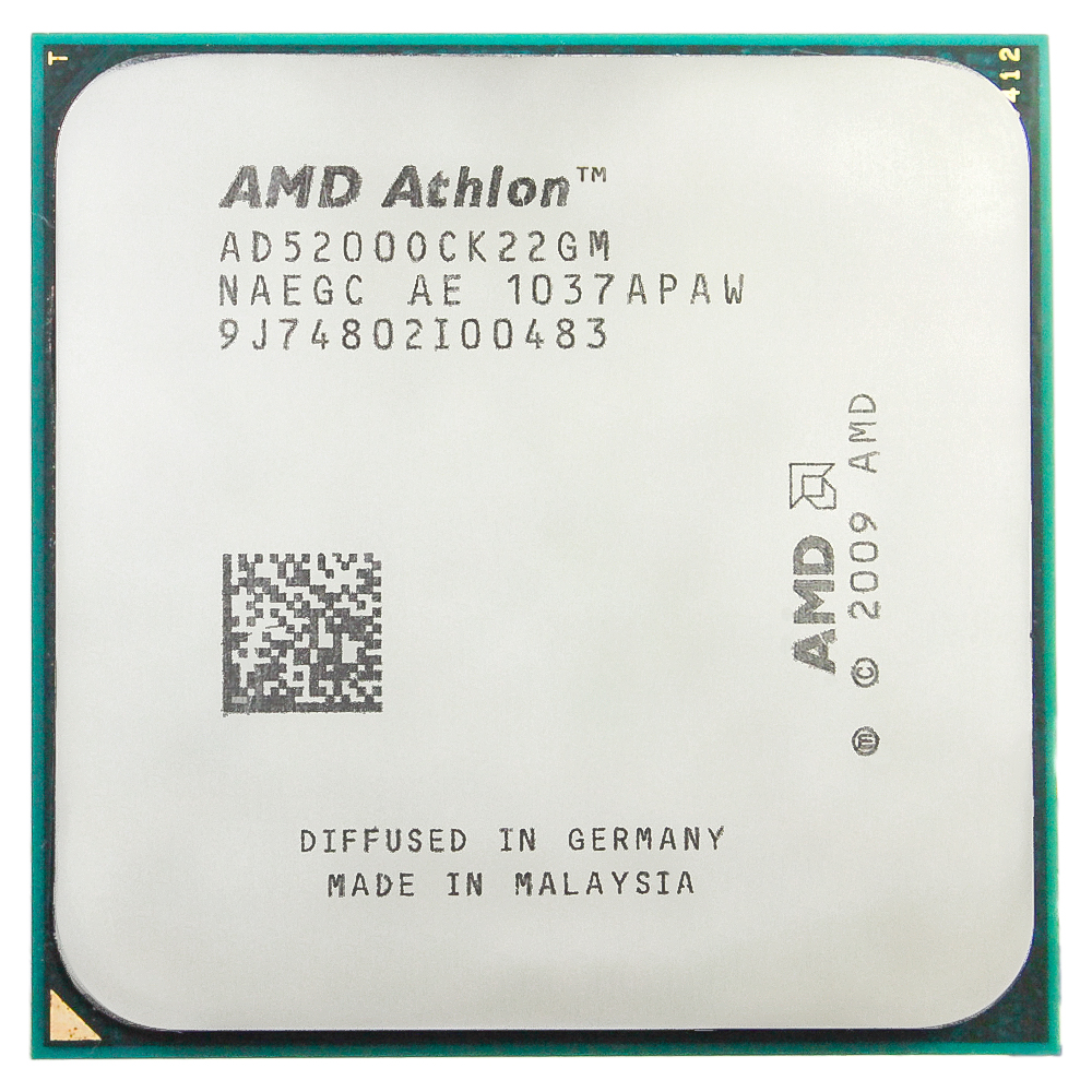 AMD Athlon  X2 5200+ CPU Processor (2.3Ghz/1M/65W)Socket AM2+ AM3 CPU