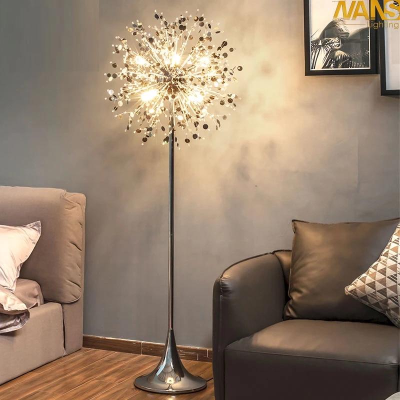 Fashion Modern Crystal Floor Lamp Living Room Lights Bedroom Lamps French Modern Stand Lights Stainless Steel Abajur Cristal Crystal Floors Modern Crystal Floor Lampcrystal Floor Lamp Aliexpress