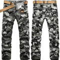 2014 Moda Casual Calças Dos Homens Calças de Camuflagem Macacão de Multi Bolso da Calça Militar Campo Calças de Camuflagem 28-38