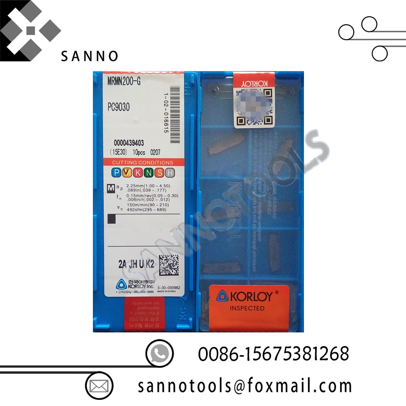 Free Shipping! Glooving Blade Tools MRMN200-G NC3020 / MRMN200-G NC3030 / MRMN200-G PC9030 Cnc Carbide Glooving Inserts In China