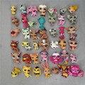 Promoção baratos 30 pçs/lote pety littlest lps loja cat dog patrol raro conjunto de brinquedos poni my little mini anime Figura presente para a menina
