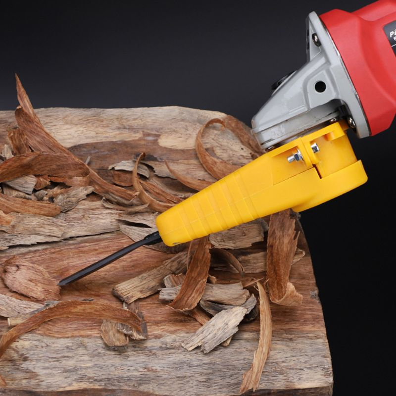Electric Power Wood Carving Chisel Set for Angle Grinder