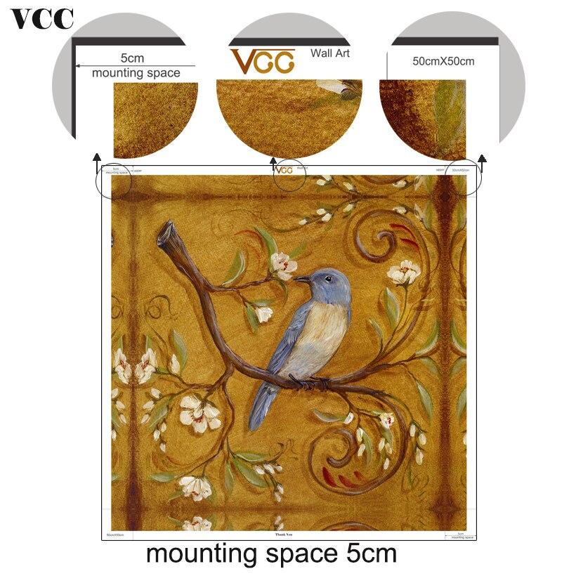 VCC құс, қабырғадағы мұнай суреттері, - Үйдің декоры - фото 4